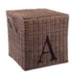 Quadratische Korb 'A, B, C' Set von 3