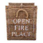 Korb für Stämme 'open fire place' klein
