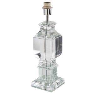 Tischlampe Castello Kristall