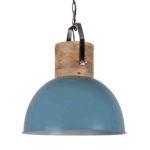 Hängelampe Fabriano Vintage blau