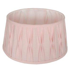 Stehender Lampenschirm Riva oval rosa