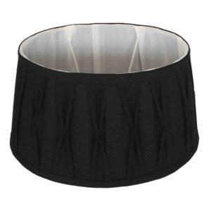 Stehender Lampenschirm Riva oval schwarz