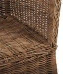 Strandstuhl 1-Sitz koboo grey