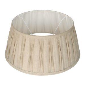 Stehender Lampenschirm Riva drum naturel