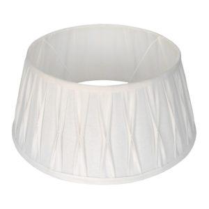 Stehender Lampenschirm Riva drum weiß