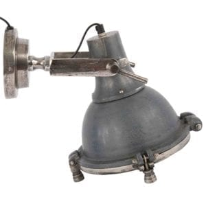 Wandlampe Toscane Blei + Rohnickel