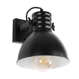 Wandlampe Sophia 1 Fach schwarz