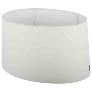 Stehender Lampenschirm ambienta oval weiß